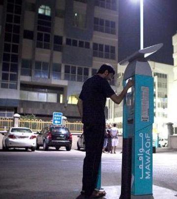 Više parking mesta u centru Abu Dabija