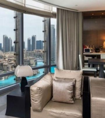 FOTO-PRIČA: Zavirite u Armani apartmane - ponos Burdž Kalife