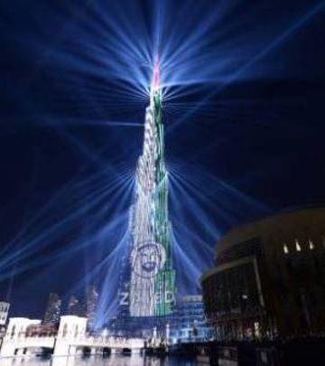 Godina počela rekordom: Spektakl kod Burdž Kalife (VIDEO)