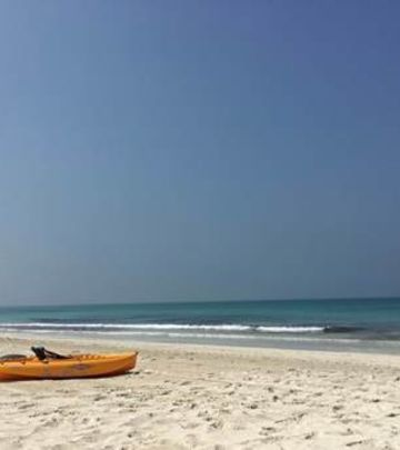 Božićni praznici: Iznenađenje na plaži u Abu Dabiju (VIDEO)