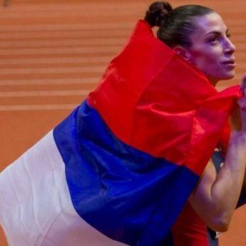 Zlatni skok Ivane Španović: Srpkinja na krovu sveta! (VIDEO)