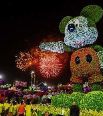 Nova atrakcija u gradu rekorda: Cvetni Miki Maus (VIDEO)