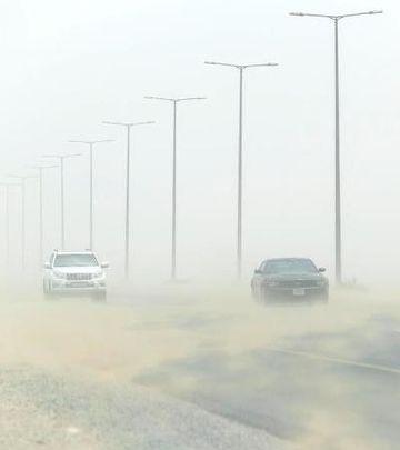 Peščana oluja u Emiratima