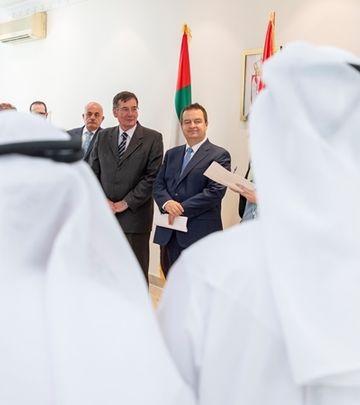 Ivica Dačić u poseti Ujedinjenim Arapskim Emiratima