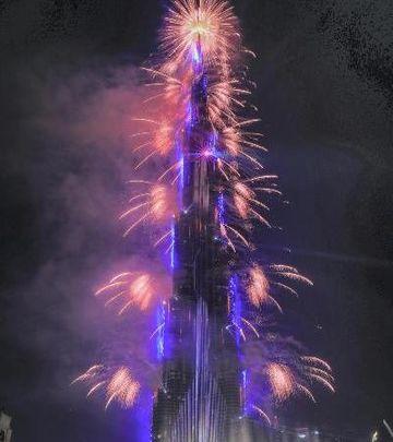 Slike koje su obišle svet: Vatrometi u Dubaiju i Abu Dabiju
