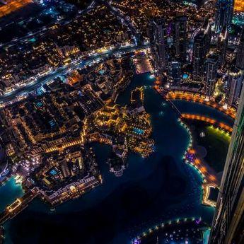 Panorama za pamćenje: Dubai noću