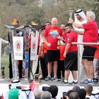 Baklja Specijalnih olimpijskih igara u prestonici Emirata