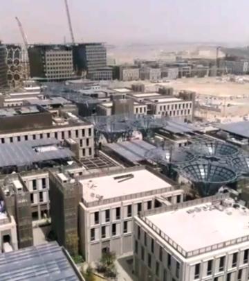 Ovako raste Expo 2020: Snimci dronom za istoriju (VIDEO)