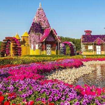 Dubai Miracle Garden: Čudesna cvetna bajka