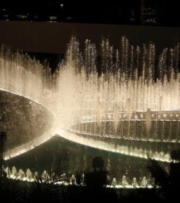 Dubai fontana: Magični ples vode, muzike i svetlosti (VIDEO)