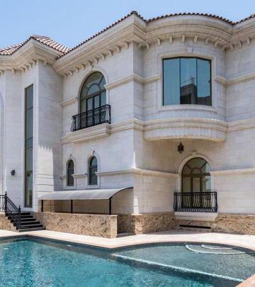 Luksuz je uvek u trendu: Zlatna vila u Dubaiju