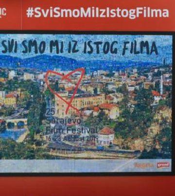 Mozaik i jubilej za ponos: Najveće srce u Sarajevu (FOTO)