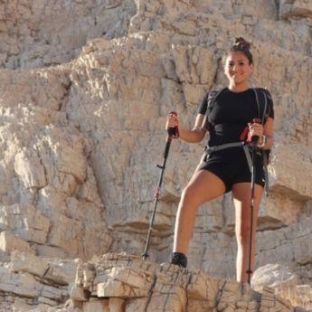 IZ DUBAIJA U ISTORIJU: Planinarka postavlja svetski rekord