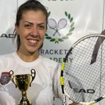 Vanja iz Beograda zablistala na teniskom turniru u Dubaiju