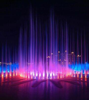 Palma fontana - novi Ginisov rekord u Dubaiju