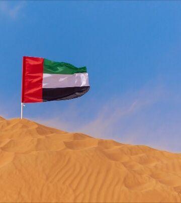 Šta simbolizuju boje na zastavi UAE?