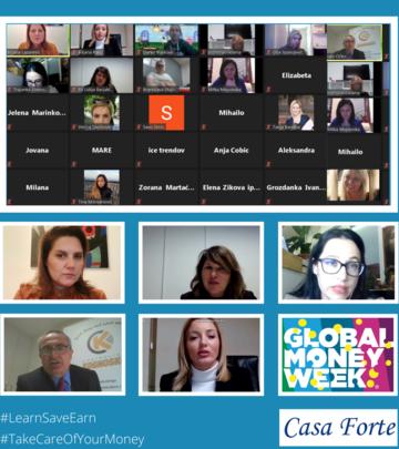 Global Money Week - ove godine pod sloganom: Uči, Štedi, Zaradi