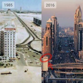 Neverovatna promena za tri decenije -DUBAI (1980-2020)