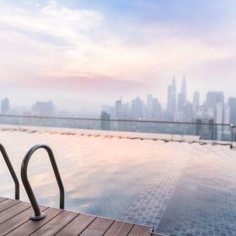 U Dubaiju otvoren najviši bazen na svetu