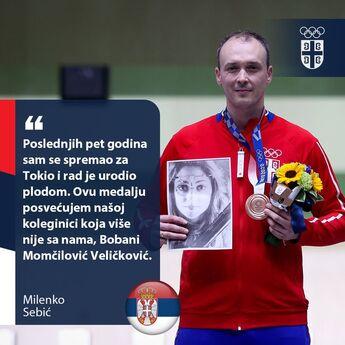 Najemotivniji momenat na OLIMPIJADI: Zbog dirljivog poteza Milenka Sebića svi su zaplakali (FOTO)