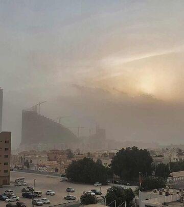 Jaka peščana oluja u Dubaiju