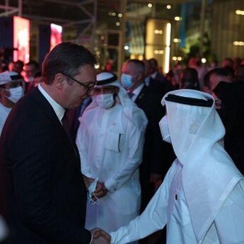 Otvaranje paviljona Srbije na EXPO 2020 Dubai