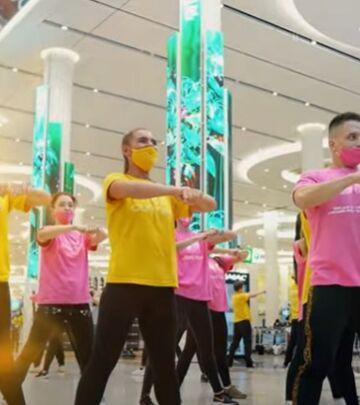 U ritmu himne EXPO Dubai 2020: Flash mob na aerodromu