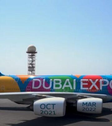 Erbas Emirata u bojama Expo Dubai 2020